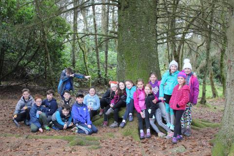 P5 Outdoor Education Jordanhill School